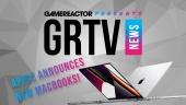 GRTV 新聞 -  蘋果揭曉全新 MacBook Pro 型號