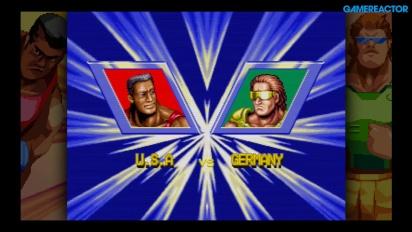 Windjammers - Duel gameplay #2 (PS4)