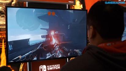 《德軍總部II:新巨像》Switch版本 - 2018年美東遊戲展 Gameplay