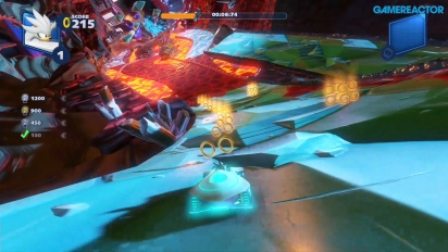 《音速小子搭檔組隊大賽車》- 隱藏的火山賽道挑戰 Gameplay