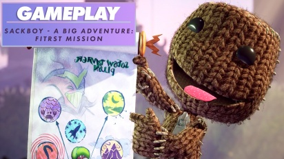 《小小大冒險》- 第一關 - Gameplay